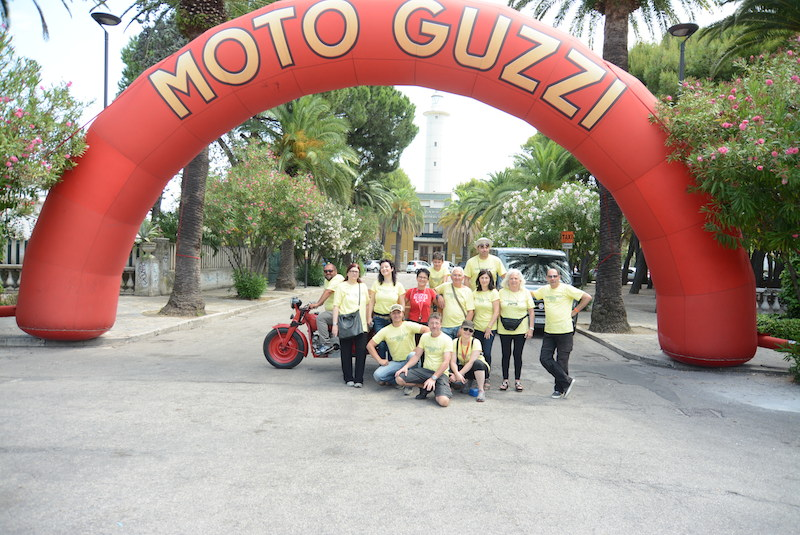xxxv raduno internazionale moto guzzi